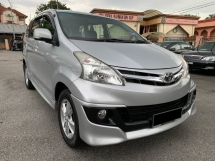 2013 TOYOTA AVANZA 1.5G (A) 1 OWNER - LOW MILEAGE - CAR KING - TIP TOP CONDITION - F/BODYKIT