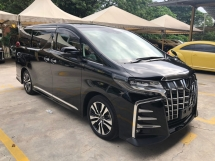 2018 TOYOTA ALPHARD 2.5 SC Modelista Alpine Full Set Intelligent Running 3LED 360 Surround Camera Pilot Full Leather Ventilation Seats Pre-Crash LTA PA RSA 3 Power Doors 3 Zone Climate Smart Entry 9 Air Bags Unreg