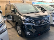 2017 TOYOTA VELLFIRE 2.5 X push start keyless entry surround camera power boot auto hold eco mode local fm player unreg