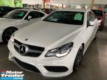 2014 MERCEDES-BENZ E-CLASS E200 2.0 AMG sport package coupe W207 unregistered