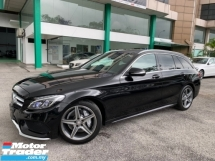 2015 MERCEDES-BENZ C-CLASS C200 2.0 AMG WAGON JAPAN UNREG FULL SPECS FREE 5 YEARS WARRANTY
