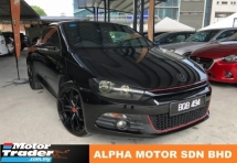 2009 VOLKSWAGEN SCIROCCO 2.0 TSI (A) NEW REGISTRATION NUMBER