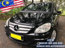 2009 MERCEDES-BENZ B-CLASS B170 AVANTGARDE (CBU) FACELIFT OFFER