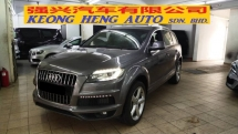 2011 AUDI Q7 3.0 V6 TDI S LINE QUATTRO (A) REG 2014, DIESEL ENGINE, UK SPEC, ONE CAREFUL OWNER, 100% ACCIDENT FREE, LOW MILEAGE DONE 59K KM, FREE 2 YEARS CAR WARRANTY OF ENGINE & GEARBOX, 20