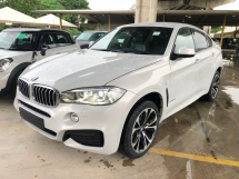 2015 BMW X6 M Sport 40d 3.0 Twin-Turbo Digital Meter Head Up Display Harman Kardon Logic-7 Premium Intelligent Pre-Crash Pedestrian Alert Lane Departure Warning Adaptive Full-LED Lights Sport PLUS Eco Pro Mode Paddle Shift 3 Zone Climate Control Bluetooth Unreg