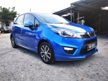 2015 PROTON IRIZ PREMIER 1.6 AUTO / PUSH START BUTTON / KEYLESS ENTRY / REVERSE CAMERA / LEATHER SEAT / ORI GPS MAP / TIPTOP CONDITION / LOW DOWN PAYMENT