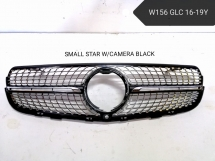 Mercedes Benz W156 GLC 1619Y SMALL STAR WCAMERA GRILL Exterior & Body Parts > Body parts