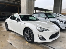 2015 TOYOTA 86 GT Limited GT86 2.0 Boxer D-4S 200hp 6 Speed LSD VSC Sport Mode Smart Entry Push Start Button Paddle Shift Steering HVAC Bucket Seat Intensity Discharged LED Zone Climate Control Twin Exhaust Reverse Camera Unreg