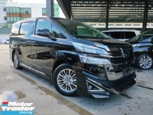 2018 TOYOTA VELLFIRE 2018 Toyota Vellfire 3.5 VL Full Spec Sun Roof JBL Home Theatre System 4 Camera 360 View Pre Crash DIM BSM RCTA LTA Full Leather Modelista Bodykit Unregister for sale