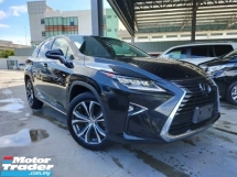 2017 LEXUS RX 2017 Lexus RX200T Version L 4 Cam 360 View Pre Crash HUD LKA BSM Power Boot Full Leather Unregister for sale