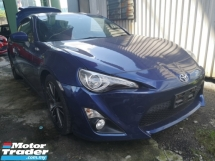2015 TOYOTA 86 2.0 GT/FREE 5 YEARS WARRANTY/SPORT COUPE GT