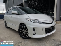 2015 TOYOTA ESTIMA 2.4 AERAS PREMIUM WHITE OFFER LAST UNREG
