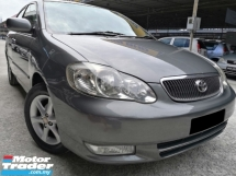 2003 TOYOTA COROLLA ALTIS Toyota Altis 1.8G (A) VVTI TIP-TOP CONDITION