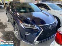 2017 LEXUS RX 200t F sport head up display power boot back left camera memory seat precrash system lane assist