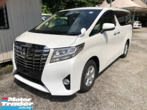2016 TOYOTA ALPHARD 2.5 G X UNREG.INCLUDED SST.TRUE YEAR CAN PROVE.POWER DOOR N BOOT.360 SURROUND CAMERA.LUXURY INTERIOR.FREE WARRANTY N MANY GIFTS
