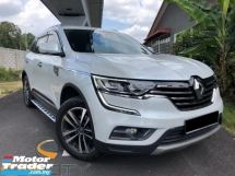 2016 RENAULT KOLEOS 2.5L PREMIUM EDITION 17K MILEAGE UNDER RENAULT MALAYSIA WARRANTY NEW CAR CONDITION ONE OWNER TIPTOP