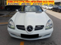 2007 MERCEDES-BENZ SLK 200 K 1.8 (A) UK SPEC