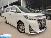 2018 TOYOTA ALPHARD 2018 Toyota Alphard 3.5 GF Facelift 8 Speed Sun Roof JBL Home Theatre DIM RCTA BSM Pre Crash LKA Leather Modelista Bodykits Unregister