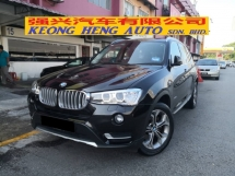 2016 BMW X3 2.0 NEW FACELIFT xDrive20i LCI TRUE YEAR MADE 2016 CKD Mil 40k km only BMW Malaysia Warranty to 2022