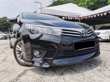 2015 TOYOTA COROLLA ALTIS 1.8 G FULL SPEC LIKE NEW CAR 1 OWNER FU LON