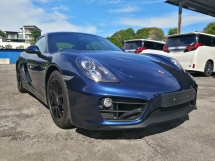 2015 PORSCHE CAYMAN 2.7 981 UK Spec Unregistered