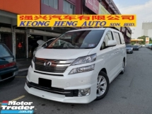 2013 TOYOTA VELLFIRE 3.5 VL PREMIUM HIghest Spec Edition TRUE YEAR MADE 2013