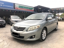 2009 TOYOTA ALTIS 1.8G(A)CHEAPEST IN TOWN CLEARANCE STOCK
