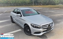2016 MERCEDES-BENZ C-CLASS 2016 MERCEDES BENZ C180 1.6 SE FACELIFT TURBO UNREG JAPAN SPEC CAR SELLING PRICE ONLY  RM 159000.