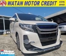 2018 TOYOTA ALPHARD 2.5 SC MODELLISTA KIT UNREGISTER 1 YEAR WARRANTY