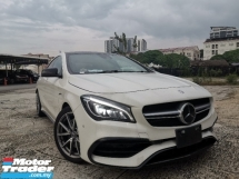 2017 MERCEDES-BENZ CLA 45 AMG 2.0 4MATIC Coupe JAPAN SPEC UNREG