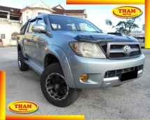2012 TOYOTA HILUX DOUBLE CAB 2.5G (AT) GOOD CONDITION LOW MLEAGE LIKE NEW ACCIDENT FREE AND 1 CAREFUL OWNER