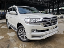 2018 TOYOTA LAND CRUISER 4.6 ZX MODELLISTA BODYKIT 4CAM SUNROOF REAR ENTERTAINMENT FULL UNREG
