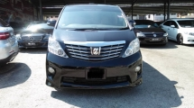 2008 TOYOTA ALPHARD 3.5 GL FULL SPEC REGISTER 2010 SUNROOF HOME THEATER 3CAMERA PILOT SEAT
