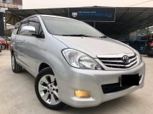 2011 TOYOTA INNOVA 2.0G (AT) = CAR KING = MVP KING = BEST FOR PICK CHILDREN = TIP TOP CONDITION = PUCHONG DEALER= FOC WARRANTY