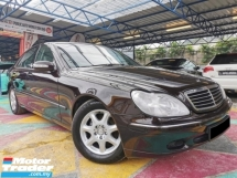 2004 MERCEDES-BENZ S-CLASS Mercedes Benz S280 2.8 PERFECT YR2007 WARRANTY
