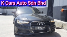 2012 AUDI A6 2.0 TSFI S-LINE (Actual Year) (CBU MEW) (Non Hybrid) Excellent Condition Original Paint