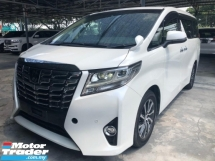2016 TOYOTA ALPHARD 2.5 G PBOOT PRECRASH ALPINE SET