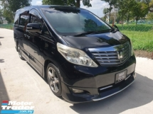 2008 TOYOTA ALPHARD 240G ,7 SEATER FABRIC,1 CAREFUL OWNER,2 PWR SEAT,3 CAMERA,CHEAPEST IN TOWN,VIEW TO SATISFY