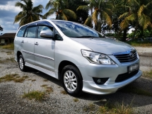 2012 TOYOTA INNOVA AUTO 2.0 G SPEC / FULL BODYKIT / ORI YEAR 2012 / TIPTOP CONDITION / HIGH LOAN