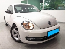 2013 VOLKSWAGEN BEETLE 1.4 FULL SERVICE RECORD 70KM WARRANTY ONE YEAR