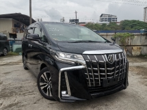 2018 TOYOTA ALPHARD 2.5 SC 3EYE LEADLIGHT NEW FACELIFT FULL LEATHER/PRE CRASH UNREG