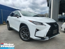 2017 LEXUS RX 2017 Lexus RX200T F Sport 4 Camera 306 View Pre Crash LKA HUD BSM Power Boot Unregister for sale