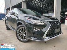 2016 LEXUS RX 2016 Lexus RX200T F Sport Sun Roof Pre Crash HUD LKA BSM RED Leather Power Boot Unregister for sale