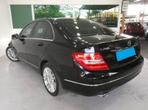 2011 MERCEDES-BENZ C-CLASS C200 W204 1.8 CGI MODEL WARRANTY ONE YEAR