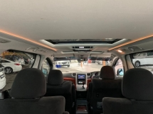 2010 TOYOTA ALPHARD 2.4 7 SEAT FACELIFT SUNROON MOONROOF POWER BOOT SPORT RIMS