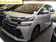 2017 TOYOTA VELLFIRE 2.5 ZG SUNROOF MOONROOF 360 SURROUND CAMERA POWER BOOT AUTO CRUISE FREE WARRANTY