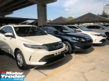 2017 TOYOTA HARRIER Unreg Toyota Harrier 2.0 Facelift 360view PowerBoot Push Start 7G