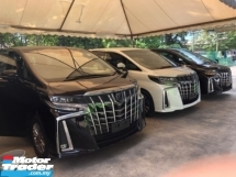 2018 TOYOTA ALPHARD Unreg Toyota Alphard SC 2.5 Facelift Sunroof 360view PowerBoot Push Start 7G