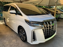 2018 TOYOTA ALPHARD 2.5SC New Facelift 2LED Leather Pilot Seat 360 Surround Camera