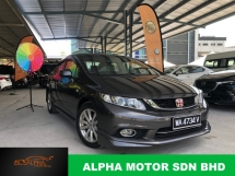 2014 HONDA CIVIC 1.8 S (A) FACELIFT MODULO CNY PROMOTION